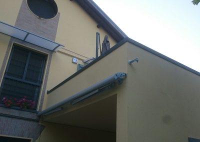 tenda a rullo per veranda